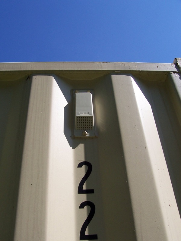Conex Box Details 20 Foot Storage Shipping Containers